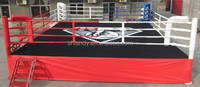 5m x 5m x 50cm international competition boxing ring