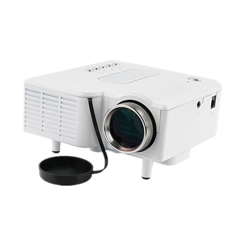 UNIC UC28+ 1080P Mini Digital Video Game Projector with AV VGA USB SD HDMI Input Interface