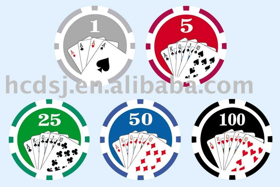 Big sticker with value 25 50 100 poker chip buy poker chip