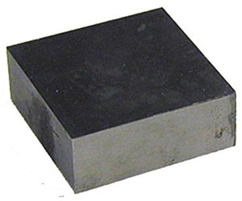 "SE JT33334SB Steel Bench Block, 3"" x 3"" x 3/4"""