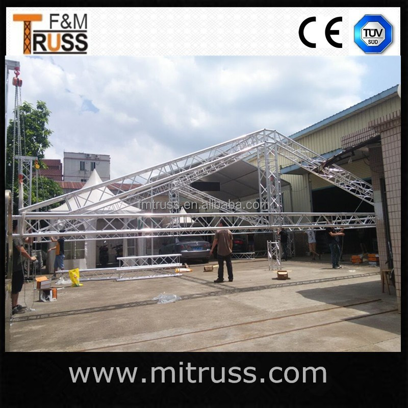 factory price stage aluminum roof truss for sale