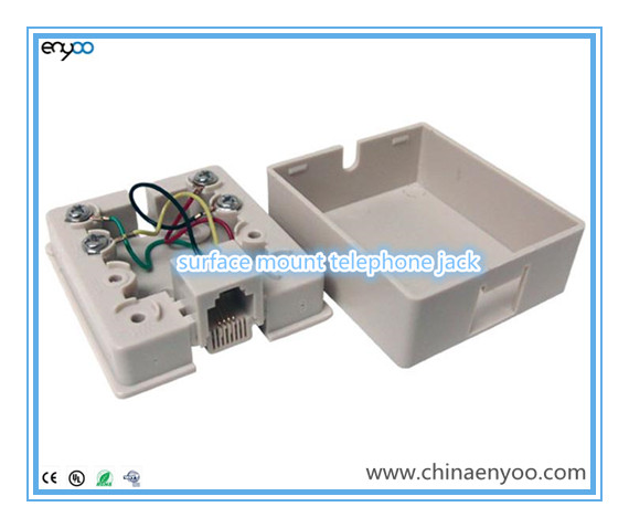 poin ethernet wall jack wiring rj11,rj12,rj45 modular surface mount jack - buy surface ... #14