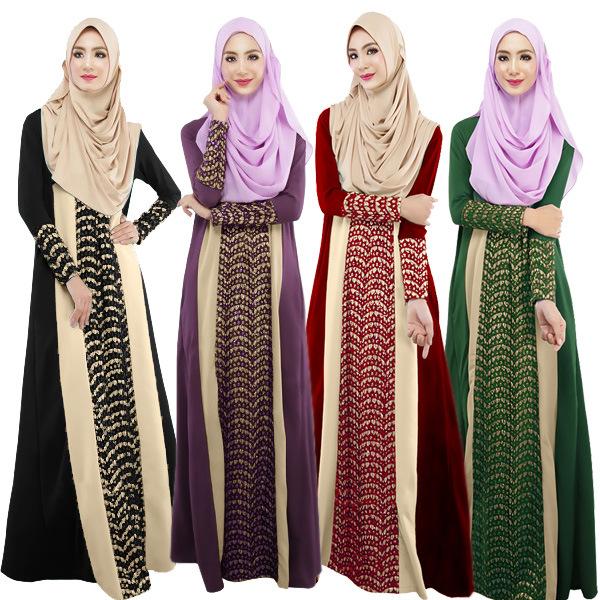 88ae8aab292 Muslim Long Dress Abaya Wholesale