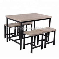 table and chairs for dining room with 4cm hollow board top