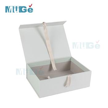 Manufactory Luxury Cardboard Magnetic Wedding Dress Storage Box With ...