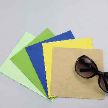 microfiber customized logo sunglasses cloth Printing microfiber glasses cleaning cloth for cleaning glass