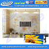 HOT SALE! Stretched clear Eco solvent/Latex environmental inkjet printing blank DIY decorative wall covering in roll