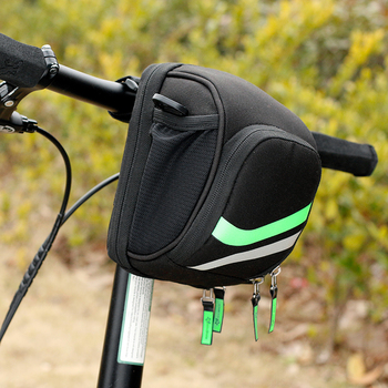 Rockbros Bicycle Frame Bag Bike Handlebar Bag With Rain Cover ...
