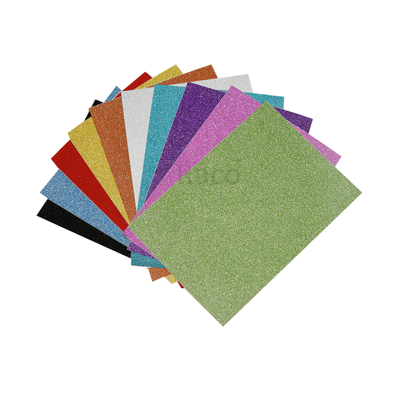 Hot sale 12x12' cartolina glitter glitter papel de scrapbook