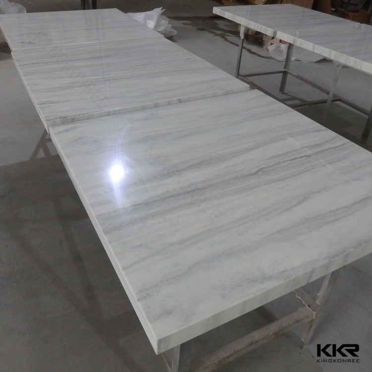 Solid Surface Kitchen Top / Korean Solid Surface Table Top / Kitchen  Cabinet Table Top