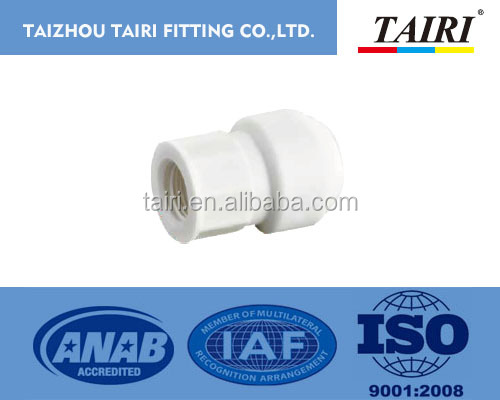 Plastic manufacturer China push fit fitting female adaptor / fast connection / quick joint