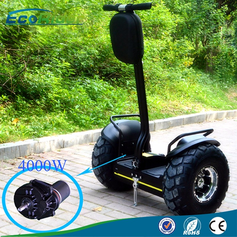 EcoRider China electric chariot x2 Personal transporter 2 wheel self balancing off road scooter