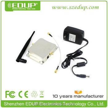 Edup-ab003 2 4g/5 8g 5w Wifi Amplifier Wireless Repeater 30dbm Wifi Antenna  Wifi Receiver Booster - Buy Wifi Antenna Wifi Receiver Booster,Wifi