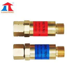 Torch Flashback Arrestor For Fuel Gas Oxygen flashback arrestor hho