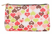 Beautiful flower patternmakeup bag fancy india clutch bag