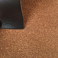 Flocked PU bonded Leather for sofa upholstery