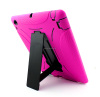 Factory direct robot stand hybrid case for iPad 3 iPad 4 drop resistant housing