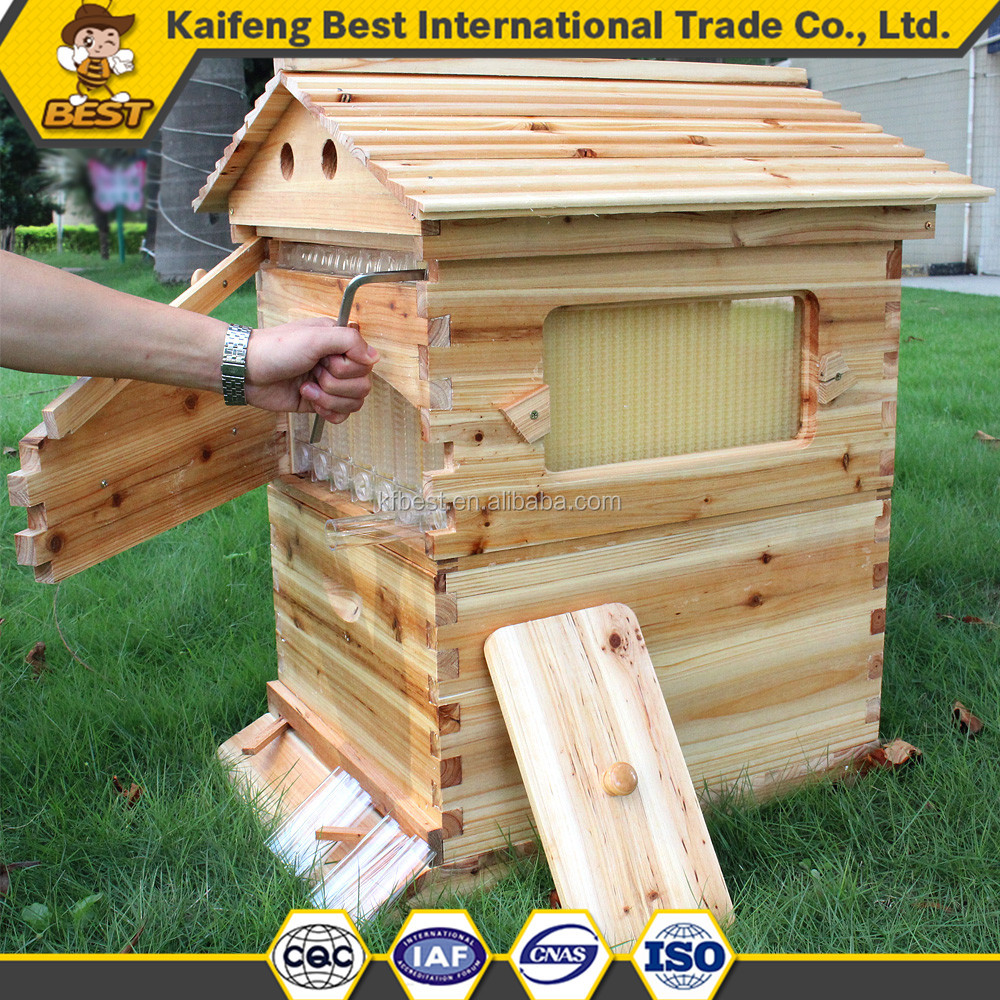 Outflow honey beehive/automatic flow honey bee hive