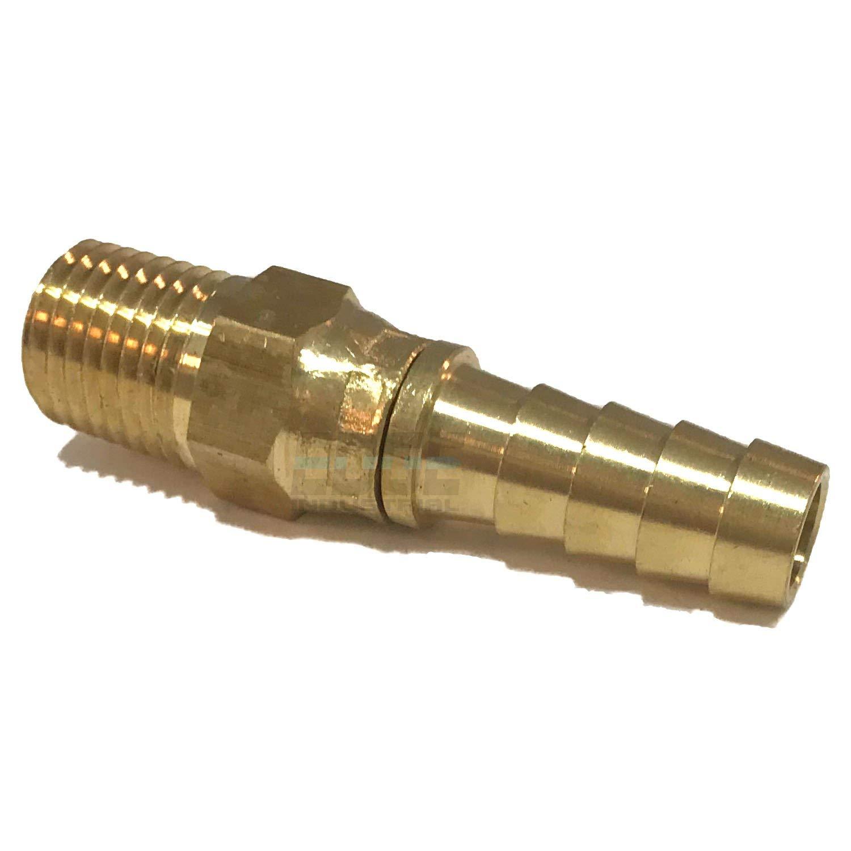 AIR//Water EDGE INDUSTRIAL Steel 90/º Male Elbow 3//8 Male NPT MNPT HYDRUALIC//Fuel WOG Oil//Gas