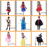 Halloween baby girl cosplay costumes for party long sleeve halloween costumes for girls
