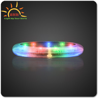 New Design LED Tunnel Light Coaster LED Party Favor Light Up Coaster For China Wholesale