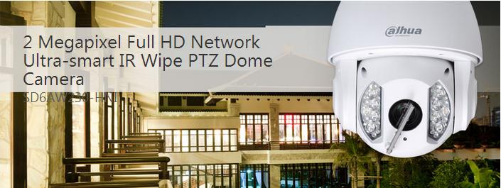H.264 2mp Auto-tracking Wiper Ptz Ultra Smart Ip Camera,Dahua ...