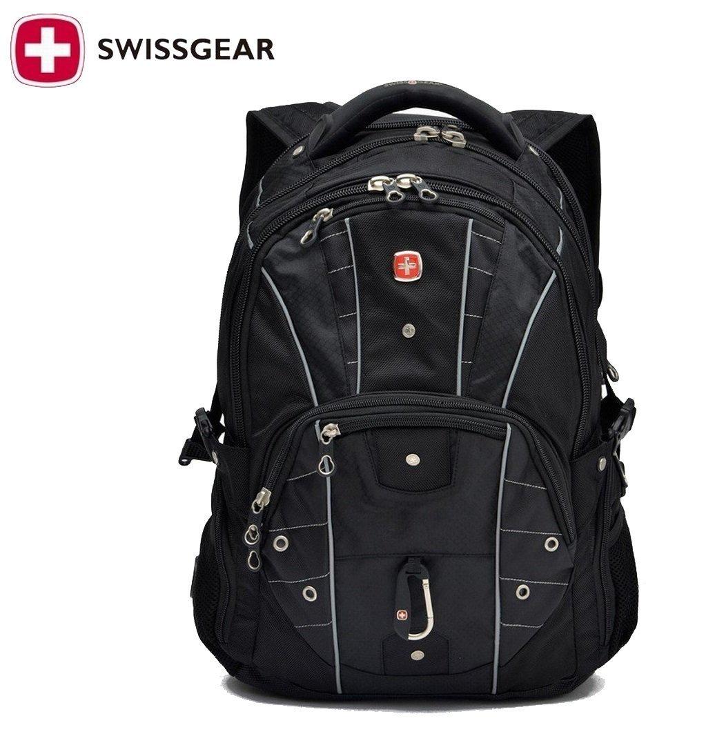 bb8b135effe4 Get Quotations · Swiss Gear 17 inch Laptop Backpack Waterproof Traveling Bag  Outdoor Hiking Backpacks Students School knapsack Rucksack