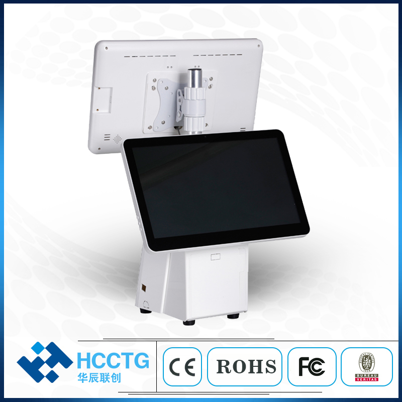 15.6 Inch Android  All In One Machine Touch Screen Pos System For Store HKS10-AA