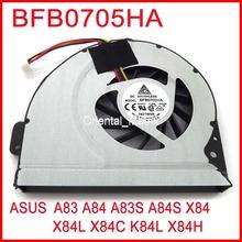 Brand New DELTA BFB0705HA For ASUS A83 A84 A83S A84S X84 X84L X84C K84L X84H Computer Graphics Card Cooling FAN