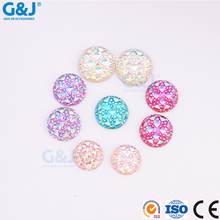 guojie brand wholesale high end chaton beauty rhinestone round shape crystal