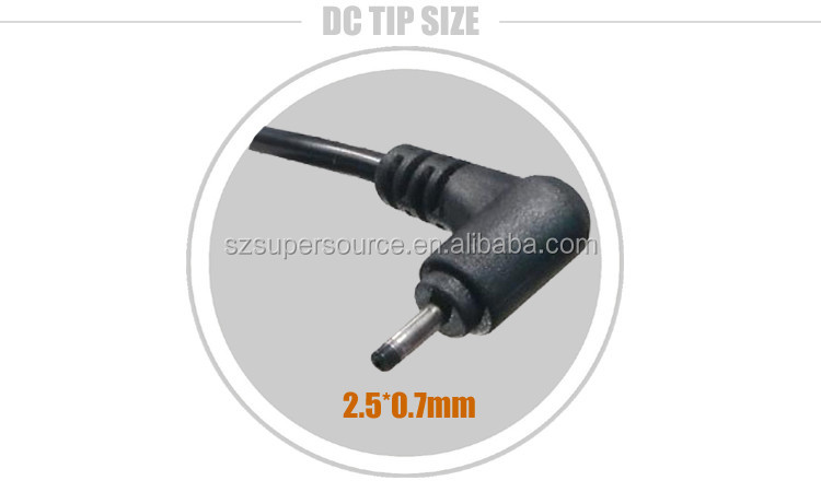 Car DC Power Adapter Charger USB Port for ASUS Mini Eee PC 19V 2.1A 2.5x0.7mm