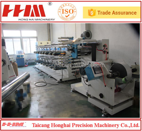 Small machines wholesale china merchandise preservative film slitting machine