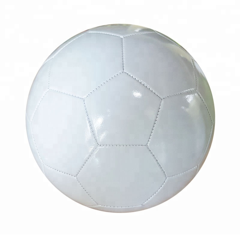 Size 5 blank white PVC machine sewn Pool Soccer <strong>Ball</strong>