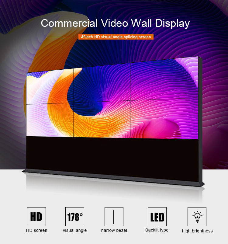 Hot sale hd video huge big advertising led tv wall