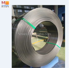 high quality spiral spring flat steel wire