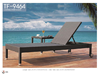 Patio garden wicker rattan poolside outdoor furniture chaise lounger/ beach chair