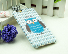 Fashion cute stylish Multi Color PU leather 3d cartoon cat phone case for iphone