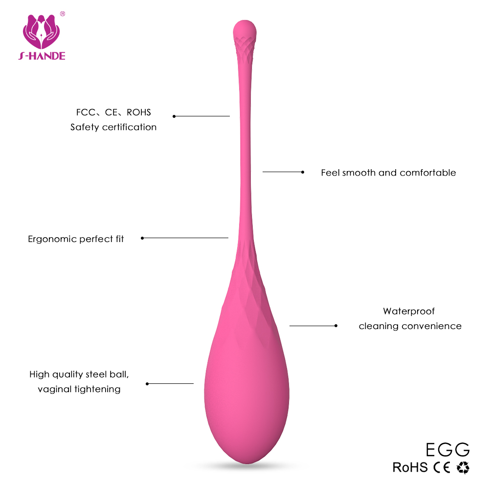 silicone jiggle balls, geisha balls, love balls for kegel exercise pelvic foor muscle tight