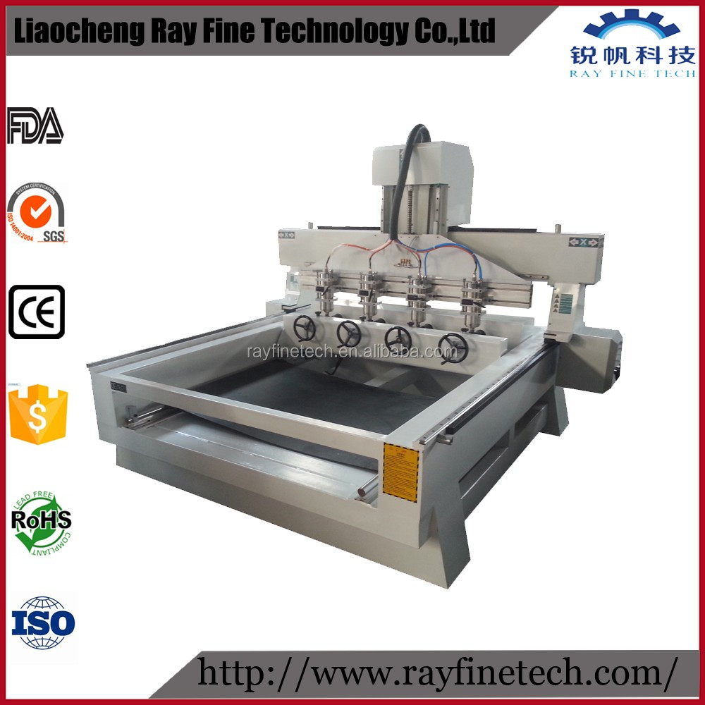 Three heads 3d relief cnc wood router china mainland wood router - Multi Head 4 Axis Cnc Machine Multi Head 4 Axis Cnc Machine Suppliers And Manufacturers At Alibaba Com