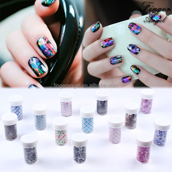 Wholesale Nail Art Starry Sky Paper Sticker Transfer Foils Stickers