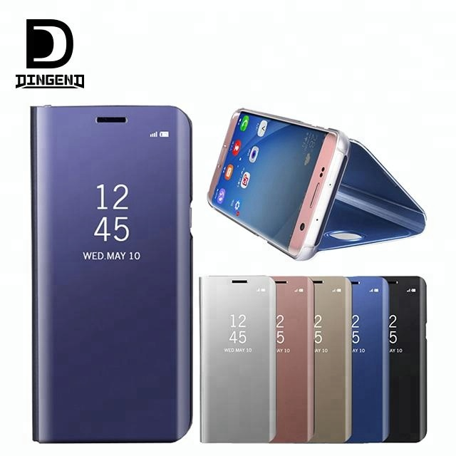 promo code c1eca 53ea5 Smart Clear View Leather Flip Cover Case For Samsung Galaxy A8 2018 - Buy  Flip Cover Case For Samsung Galaxy A8 2018,Leather Flip Cover Case For ...