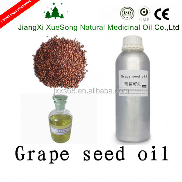 Jiangxi Xuesong high quality natural bulk grape seed oil for varicose veins and spider veins with best price