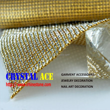 3mm hot fix crystal rhinestone fabric,aluminium sheet rhinestone mesh
