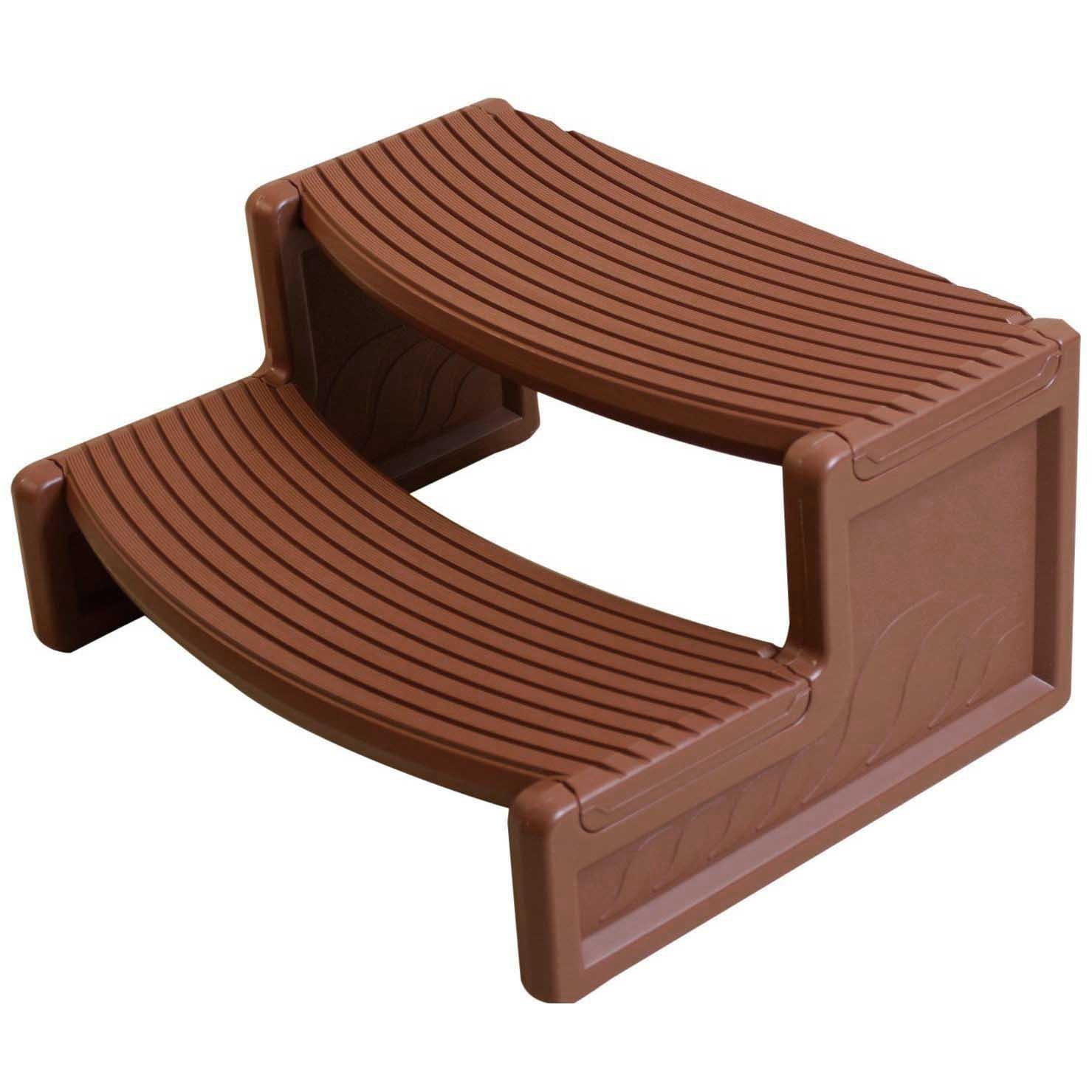 Get Quotations · Confer Plastics HS2M Handi Step Spa Step Mahogany