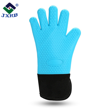 Manufacturer Kitchen non stick cooking silicone baking heat resistant oven glove