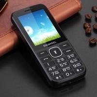 2.4 inch Original Haweel X1 elder cell phone 1500mAh Battery, Dual SIM, Super Big Speaker latest gsm cell phone