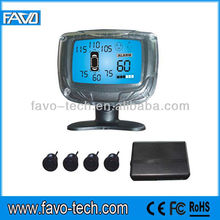 Car Voice Rear View Parking Sensor with LCD Displayer and 4 back sensors