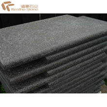 G684 Black Basalt Stone Bullnose Swimming Pool Coping