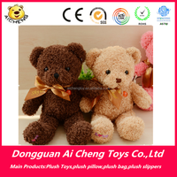 Cute plush Teddy bear with ribbon bow 35cm plush toy for kids best gift