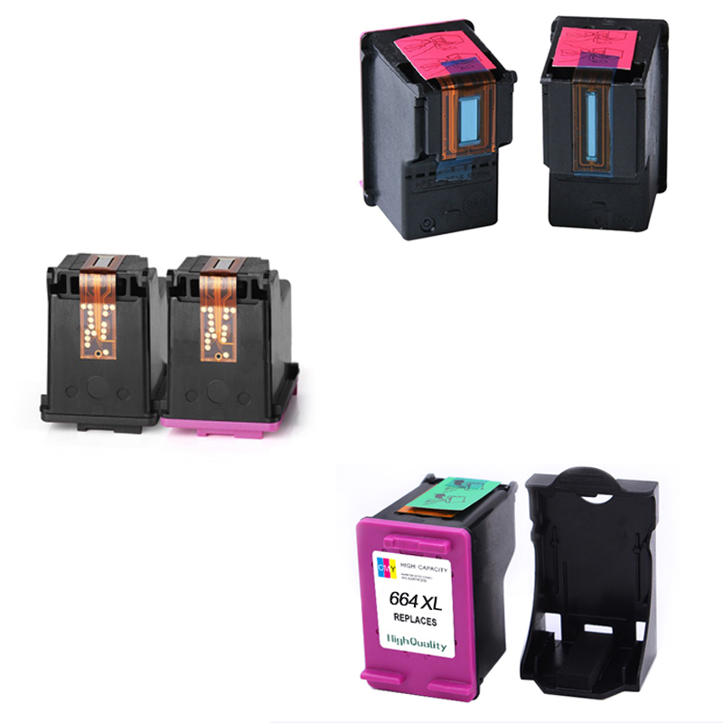 Colorpro remanufactured ink cartridge 65XL 65 ink cartridge with show ink level for 3755 5055 5052  5058 Printers